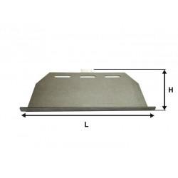 Deflector estufa pasillo