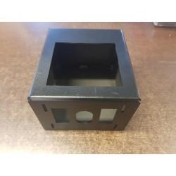 Caja soporte quemador